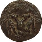 reverse:  Venezia  Innocenzo XI (1676-1689), Benedetto Odescalchi Medaglia fusa, 1684 per la Lega Santa contro i Turchi.