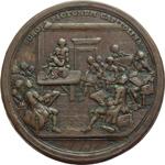 reverse:  Pio VI (1775-1799), Giovanni Angelo Braschi Medaglia premio per l Accademia del Nudo in Campidoglio.