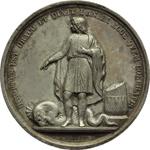 reverse:  Pio IX  (1846-1878), Giovanni Mastai Ferretti Medaglia annuale A.V