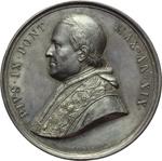 obverse:  Pio IX  (1846-1878), Giovanni Mastai Ferretti Medaglia annuale A. XIX
