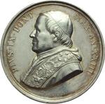 obverse:  Pio IX (1846-1878), Giovanni Mastai Ferretti Medaglia annuale A. XXIII.