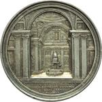 reverse:  Pio IX  (1846-1878), Giovanni Mastai Ferretti Medaglia annuale A. XXVII.