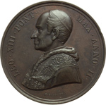 obverse:  Leone XIII (1878-1903), Gioacchino Pecci Lotto di 12 medaglie annuali: AA  I, II, III, IV, V, VI, VII, VIII, IX, X, XI e XII.
