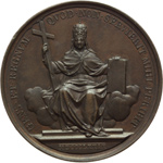 reverse:  Leone XIII (1878-1903), Gioacchino Pecci Lotto di 12 medaglie annuali: AA  I, II, III, IV, V, VI, VII, VIII, IX, X, XI e XII.