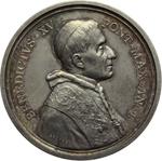 obverse:  Benedetto XV (1914-1922), Giacomo Della Chiesa  Medaglia annuale. Anno I.