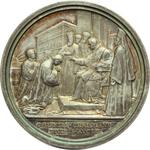 reverse:  Benedetto XV (1914-1922), Giacomo Della Chiesa  Medaglia annuale. Anno IV.