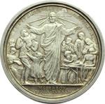 reverse:  Benedetto XV (1914-1922), Giacomo Della Chiesa  Medaglia annuale. Anno V.