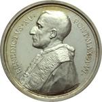 obverse:  Benedetto XV (1914-1922), Giacomo Della Chiesa  Medaglia annuale. A. VI.