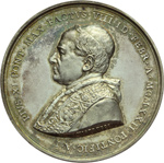 obverse:  Pio XI (1922-1939), Achille Ratti Medaglia annuale A.I