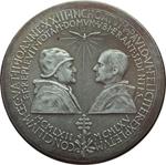 obverse:  Paolo VI (1963-1678), Giovanni Battista Montini Prova di medaglia 1965 per il Concilio Ecumenico Vaticano II.