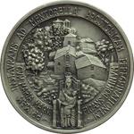 reverse:  Giovanni Paolo II (1978-2005), Karol Wojtyla Medaglia A. I, per il I pellegrinaggio al Santuario della B.V. di Mentorella.