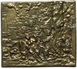 obverse:   Placchetta satirica, metà XVI secolo. 109X96mm.
