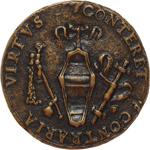 reverse:  Andrea Caraffa (1496-1526), Conte di Santa Severina Medaglia circa 1496.