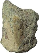 obverse:  Aes signatum Italia centrale, VI - IV secolo a.C.