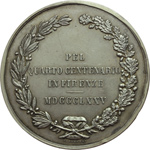 reverse:  Firenze  Michelangelo Buonarroti (1475-1564) Medaglia 1875, per il 4° centenario della nascita.