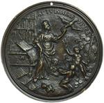 reverse:  Firenze  Ignazio Orsini (?-1770) Medaglia celebrativa 1749.