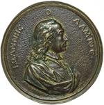 obverse:  Firenze  Giovanni Lami (1697-1770) Avvocato Medaglia celebrativa s.d. (1747).