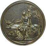 reverse:  Firenze  Giovanni Lami (1697-1770) Avvocato Medaglia celebrativa s.d. (1747).
