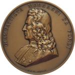 obverse:  Forlì  Giovan Battista Morgagni (1682-1771), Fondatore dell anatomia patologica Medaglia 1982, per il 300° anniversario della nascita.