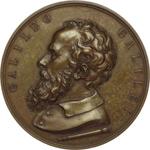 obverse:  Pisa  Galileo Galilei (1564-1642) Medaglia 1859 per il ripristino della facoltà di giurisprudenza e di teologia dell università.