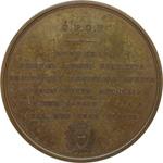 reverse:  Pisa  Galileo Galilei (1564-1642) Medaglia 1859 per il ripristino della facoltà di giurisprudenza e di teologia dell università.