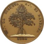 obverse:  Ravenna   Medaglia massonica.