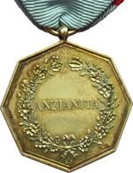 reverse:  San Marino   Medaglia anni  20 per anzianità militare, con nastrino originale.