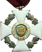 reverse:  San Marino   Decorazione da cavaliere dell Ordine di S. Agata, con nastrino e scatola originali.