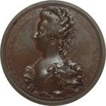 obverse:  Francia  Maria Antonietta (1755-1793) Medaglia 1793, Maria Antonietta viene condotta al patibolo.