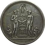 obverse:  Francia   Medaglia 30 ottobre 1813, per le nozze tra J. Michel Guilloteau e J. Villette de Raveton.
