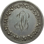 reverse:  Francia   Medaglia 30 ottobre 1813, per le nozze tra J. Michel Guilloteau e J. Villette de Raveton.
