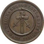 obverse:  Francia   Medaglia 5819 (1819) per la Loggia delle Arti e dell Amicizia, Parigi.
