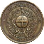 obverse:  Francia   Medaglia 5819 (1819), Loggia degli Imitatori di Osiris, Parigi.