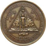 reverse:  Francia   Medaglia 5819 (1819), Loggia degli Imitatori di Osiris, Parigi.