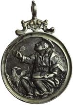obverse:  San Giovanni Evangelista Medaglia 1726, con bell appiccagnolo originale.