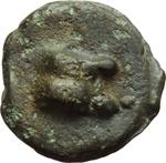 obverse:  Serie Dioscuri/Mercurio, con il falcetto. Oncia, 241-235 a.C.