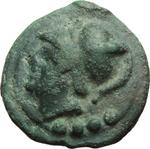 obverse:  Serie librale. Triente, 225-217 a.C.