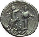reverse:  Serie monogramma VB. Vittoriato, 211-208 a.C.