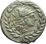 obverse:  Cn. Gellius. Denario, 138 a.C.
