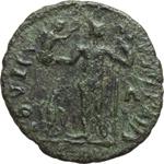 reverse:  Licinio I (308-324). Limes danubiano. Imitazione di follis.