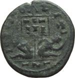 reverse:  Licinio I o Costantino I (307-337). Limes danubiano. Imitazione di follis.
