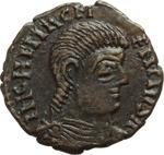 obverse:  Magnenzio (350-353). Gallia. Imitazione di maiorina.