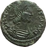 obverse:  Costanzo Gallo (351-354). Limes danubiano. Imitazione di maiorina.