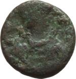 obverse:  I Vandali in nord Africa. Geilamiro (530-533). Nummus, Cartagine.