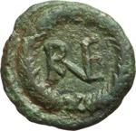 reverse:  Gli Ostrogoti in Italia. Decanummo, Ravenna, 518-540.
