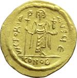 reverse:  Focas (602-610). Solido, Costantinopoli.