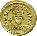 obverse:  Eraclio (610-641). Solido.