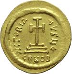 reverse:  Eraclio (610-641). Solido.