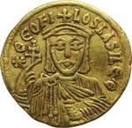 obverse:  Teofilo (829-842). Solido, Costantinopoli.