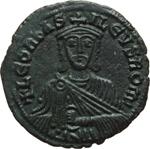 obverse:  Leone VI (886-912). Follis, Costantinopoli.